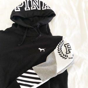 ✨🆕 PINK l Campus Crossover Hoodie Sweatshirt